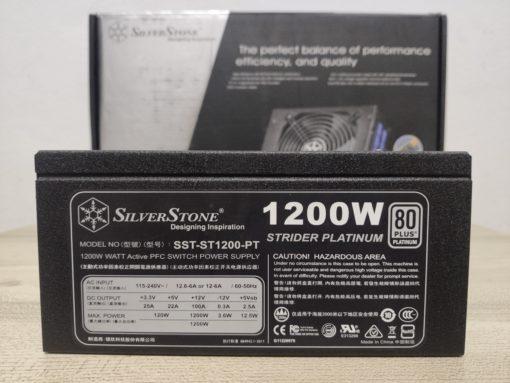 silverstone1200w,พาวเวอร์ซัพพลายดีๆเทพๆ